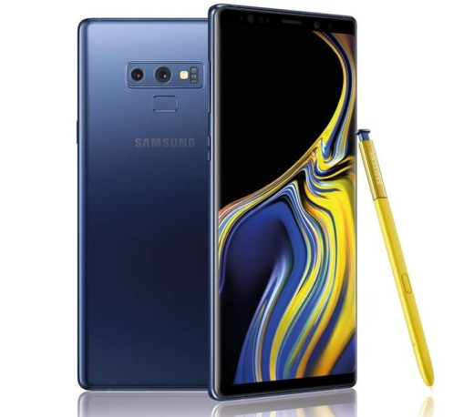 Samsung Galaxy Note9 telefon
